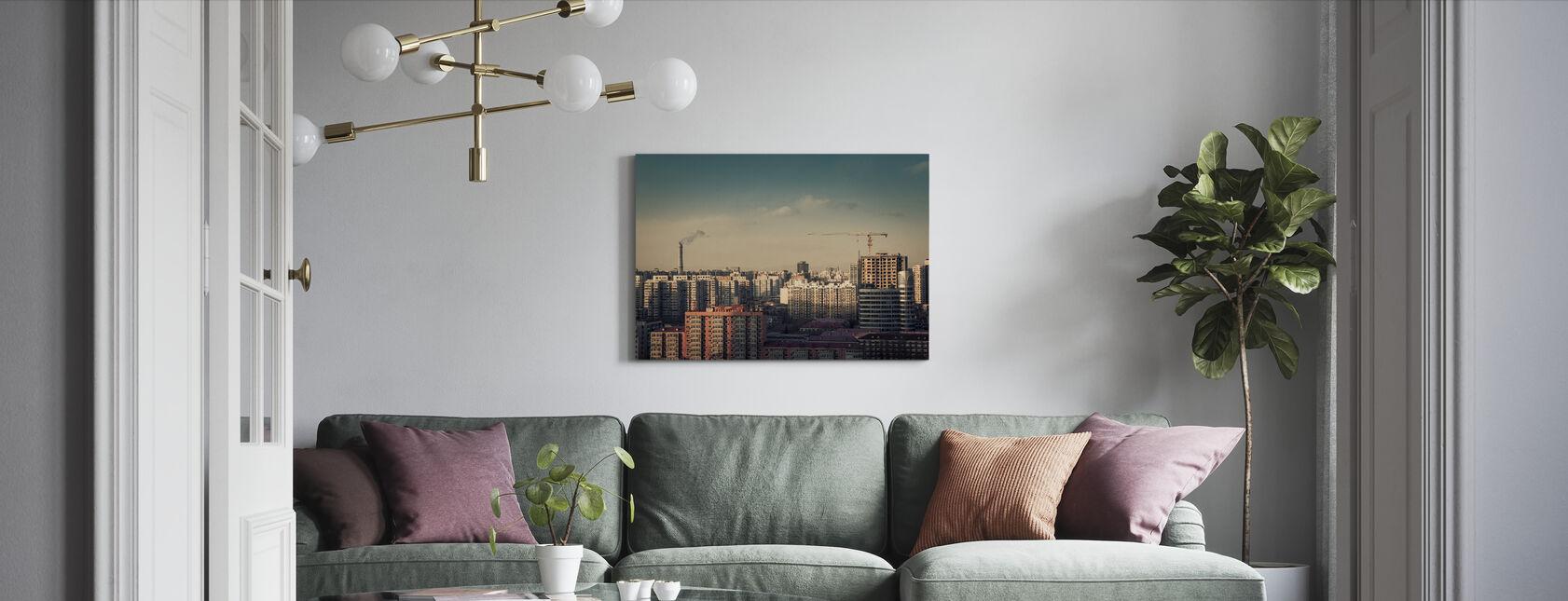 Beijing - Canvas print - Living Room