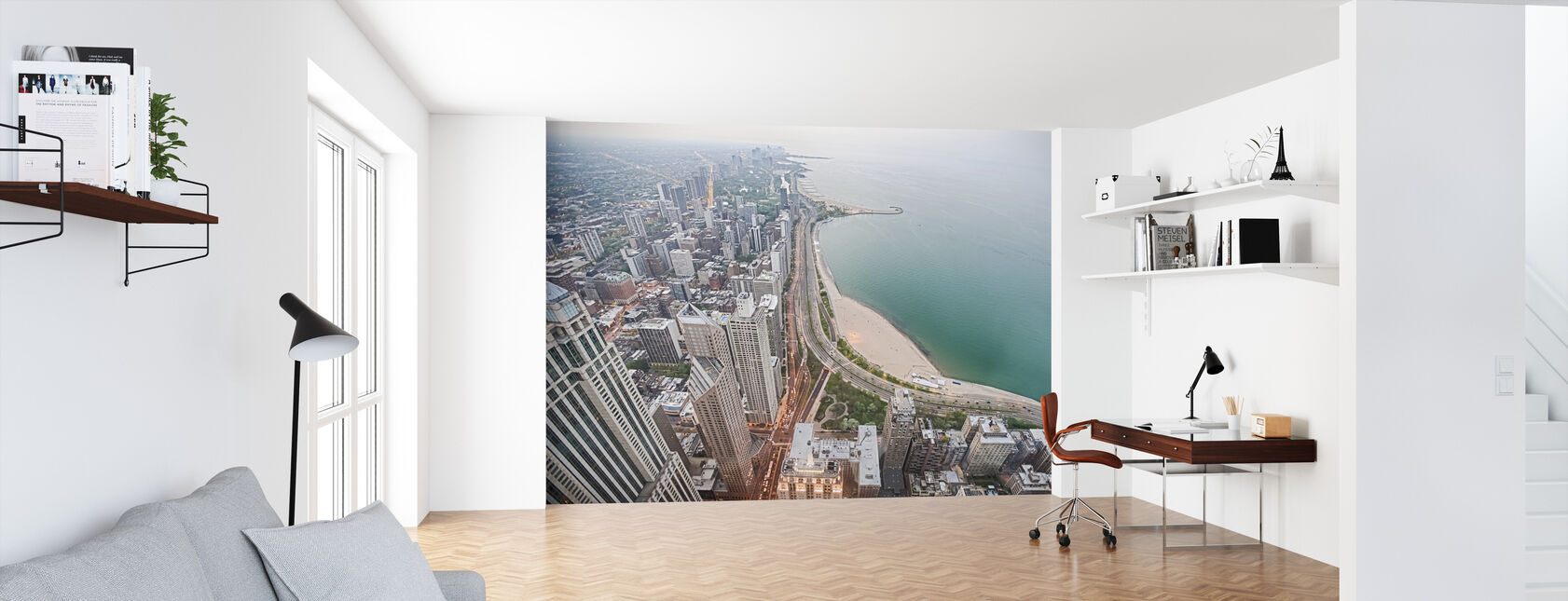 View from a Skyscraper in Chicago - Wallpaper - Office