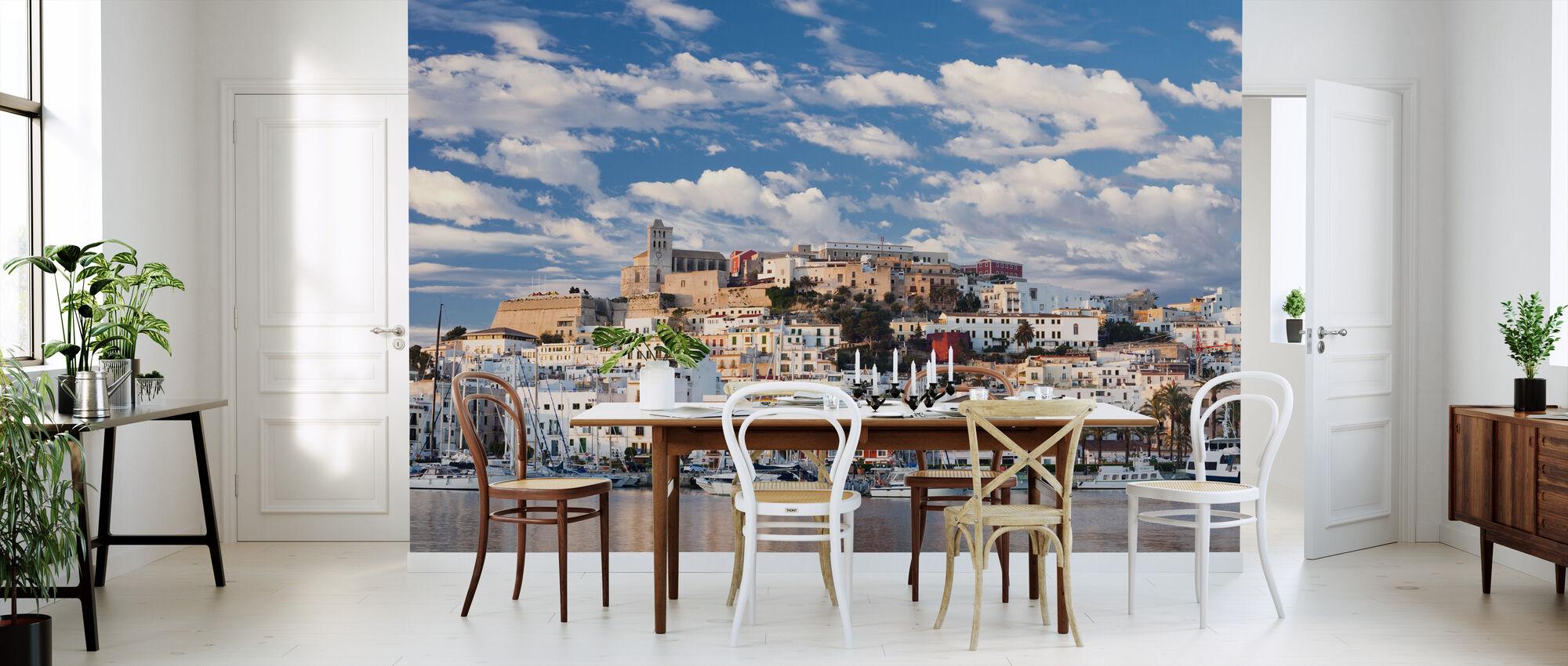 Ibiza Town - Wallpaper - Kitchen