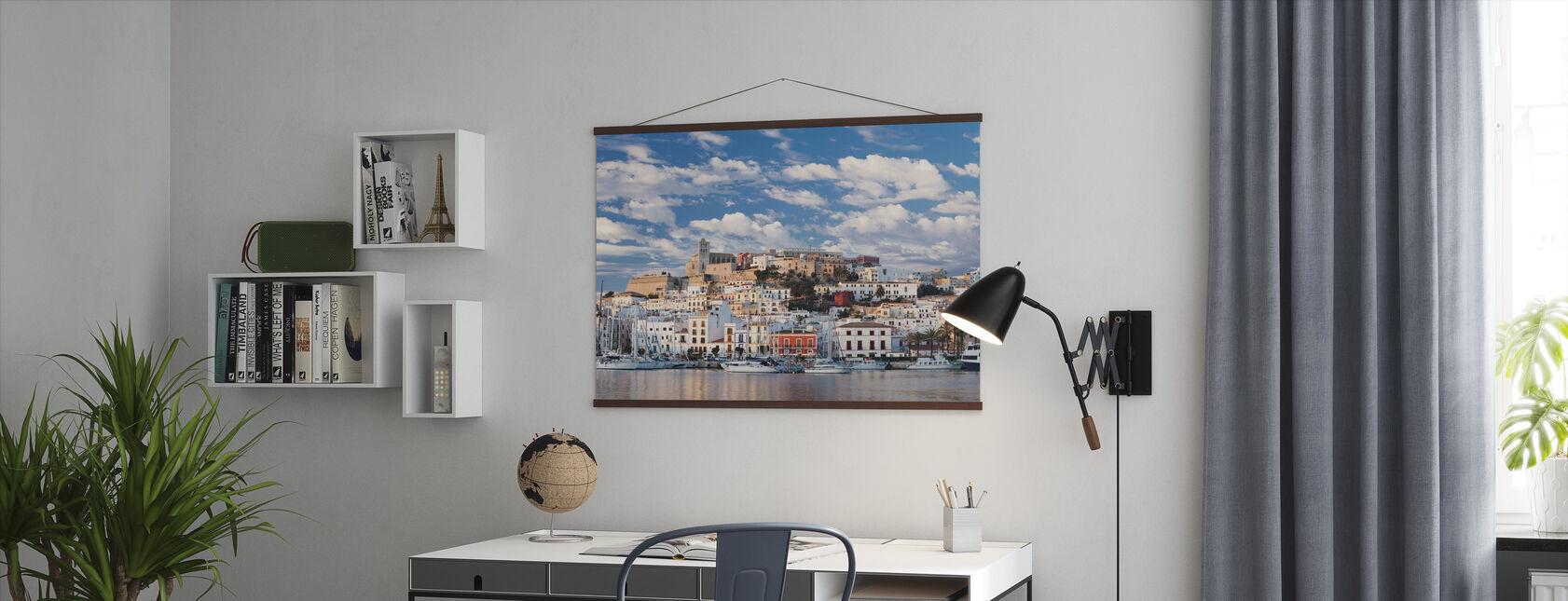Ibiza-Stadt - Poster - Büro