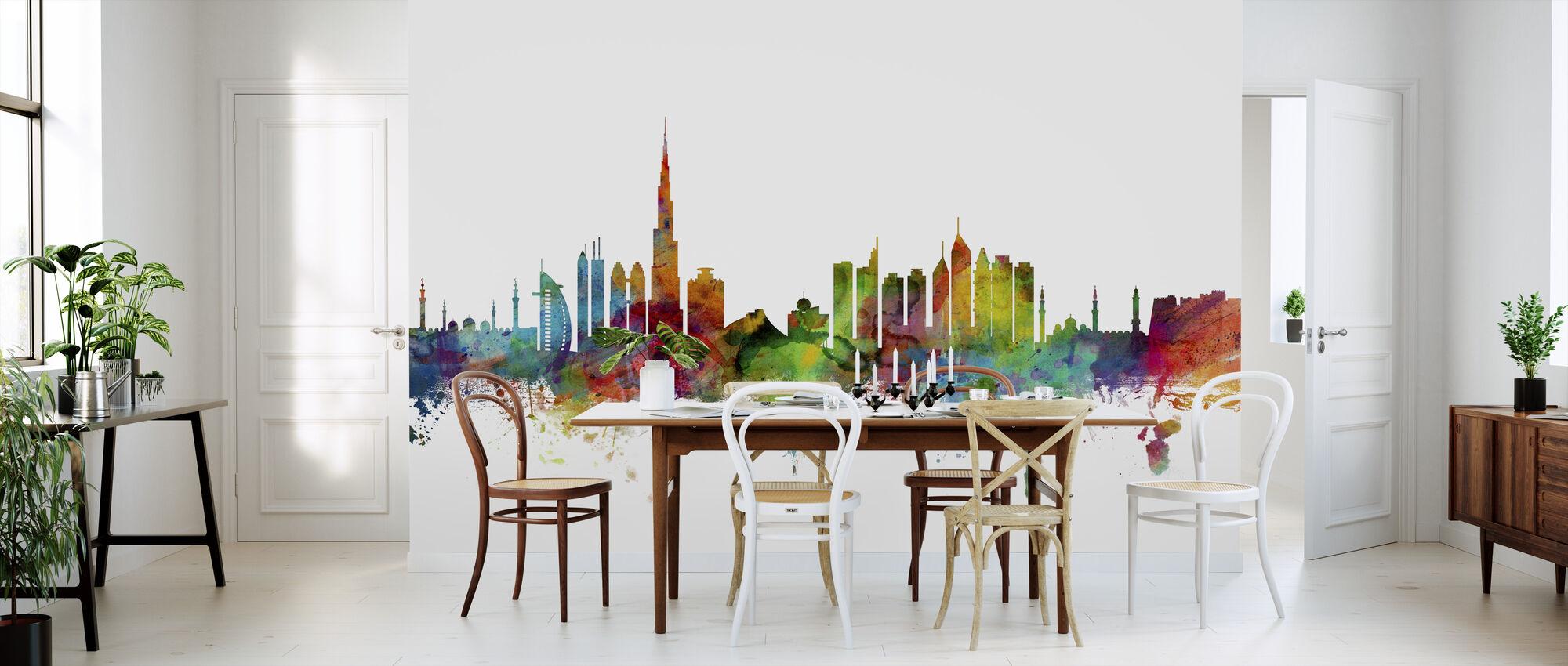 Dubai Skyline - Wallpaper - Kitchen