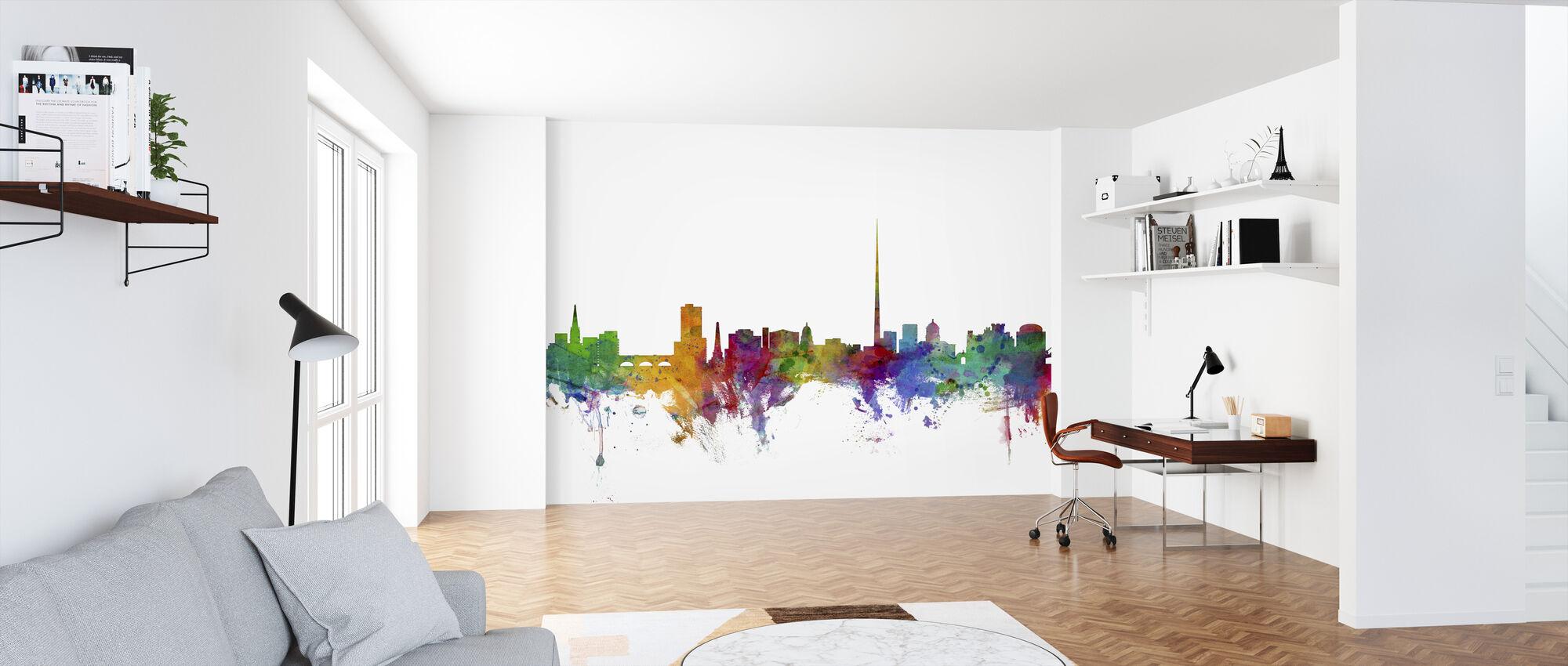 Dublin Skyline - Wallpaper - Office