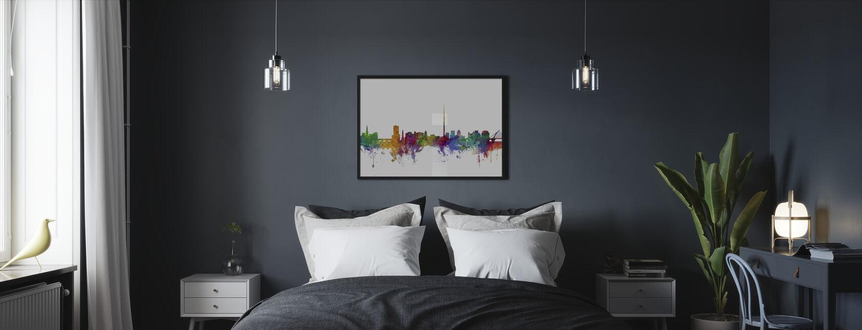 Dublin Skyline - Framed print - Bedroom