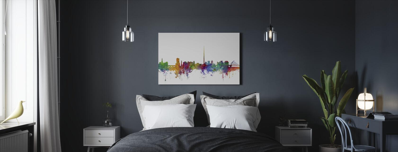 Dublin Skyline - Lerretsbilde - Soverom