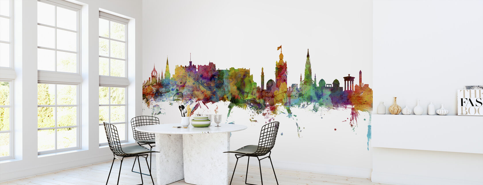 Edinburgh Skyline - Wallpaper - Kitchen