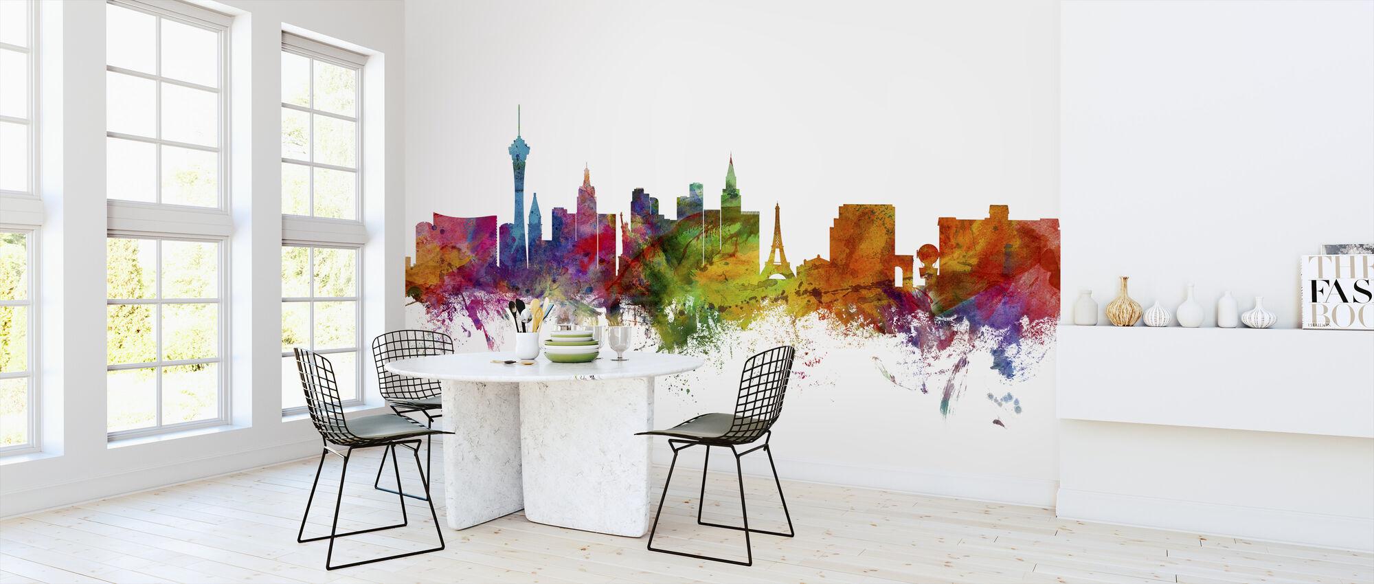 Las Vegas Skyline - Wallpaper - Kitchen