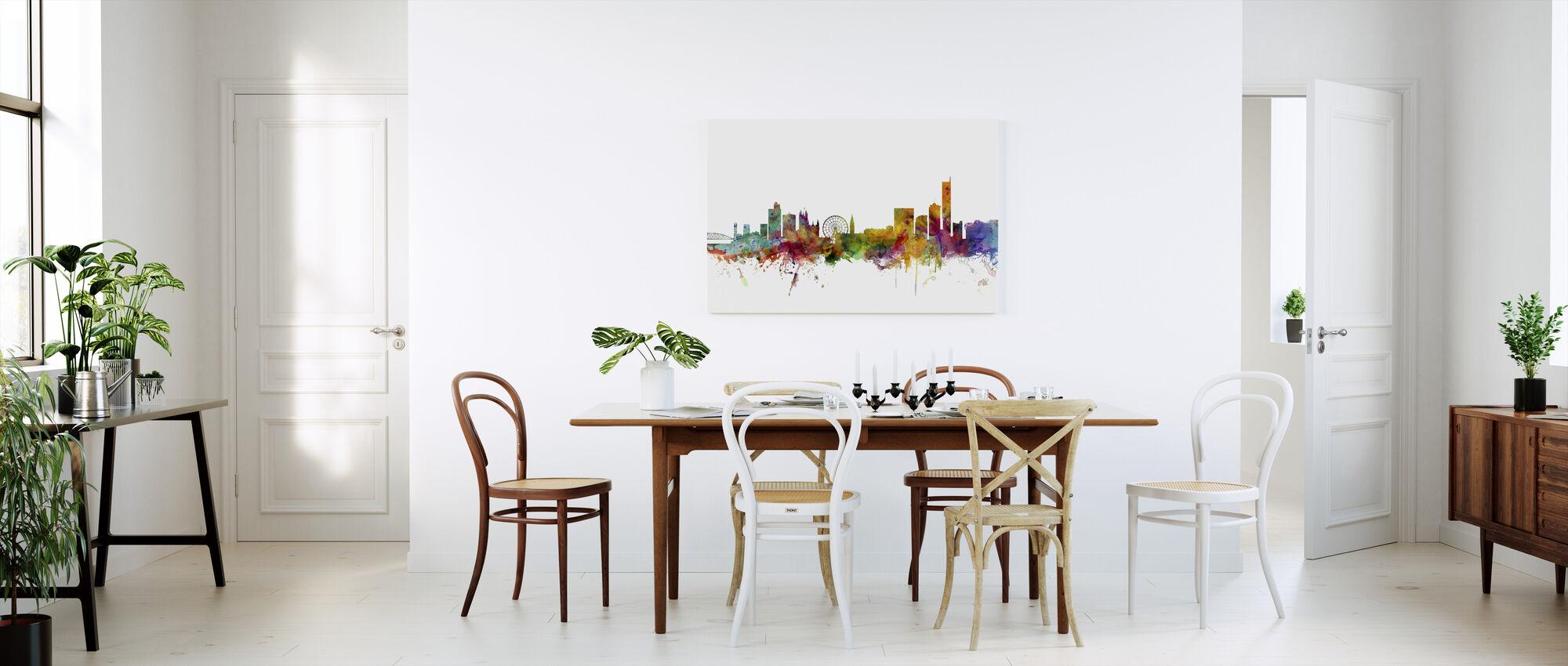 Manchester Skyline - Canvas print - Kitchen