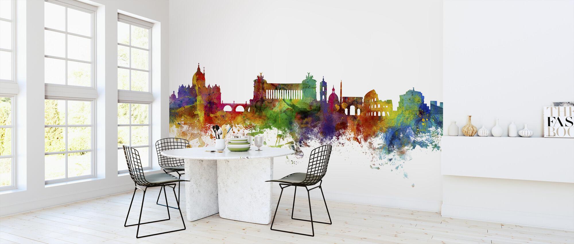 Rome Skyline - Wallpaper - Kitchen