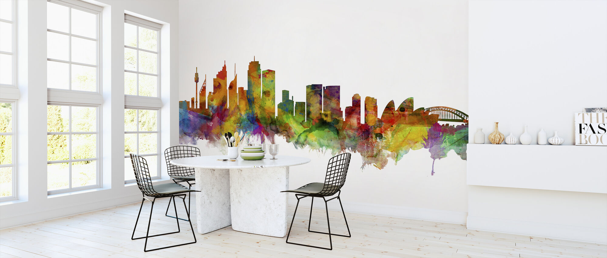 Sydney Skyline - Wallpaper - Kitchen