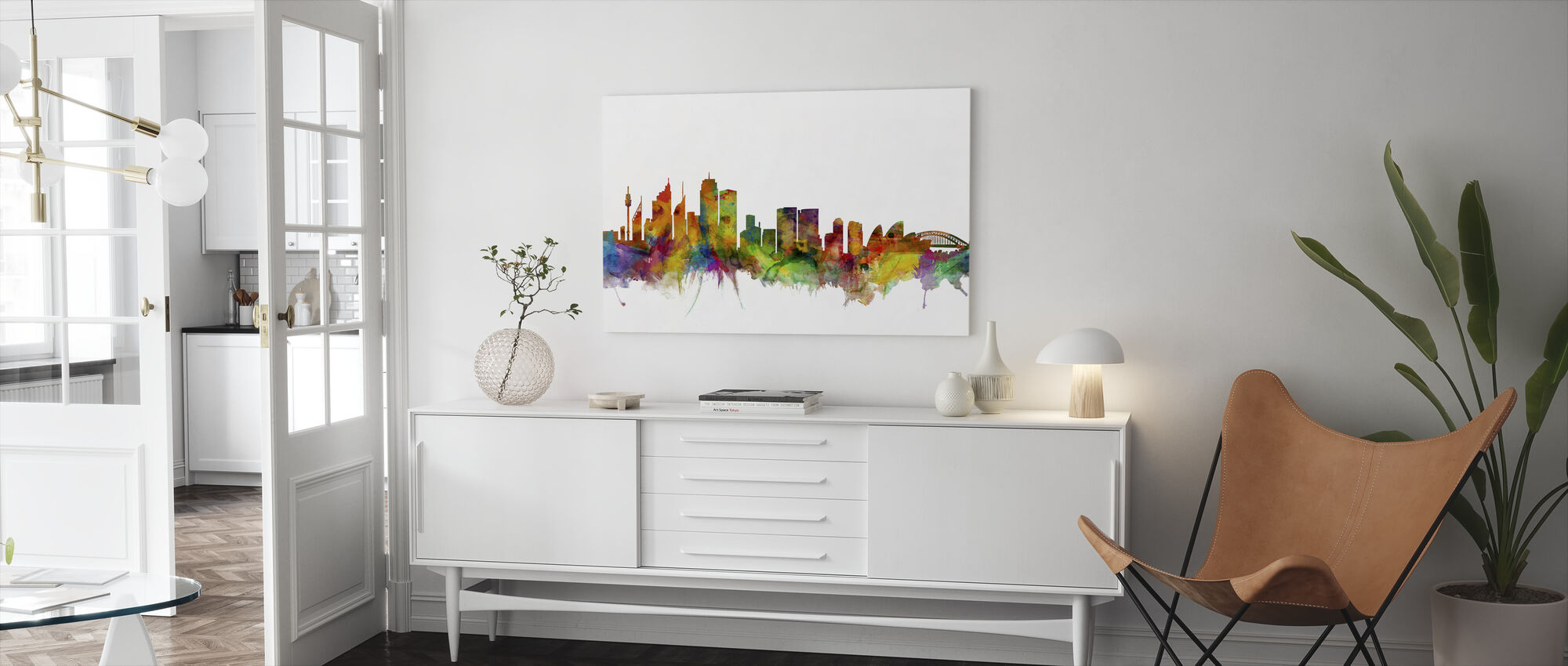 Sydneys skyline - Canvastavla - Vardagsrum