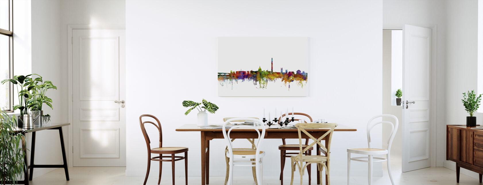 Washington DC Skyline - Canvas print - Kitchen