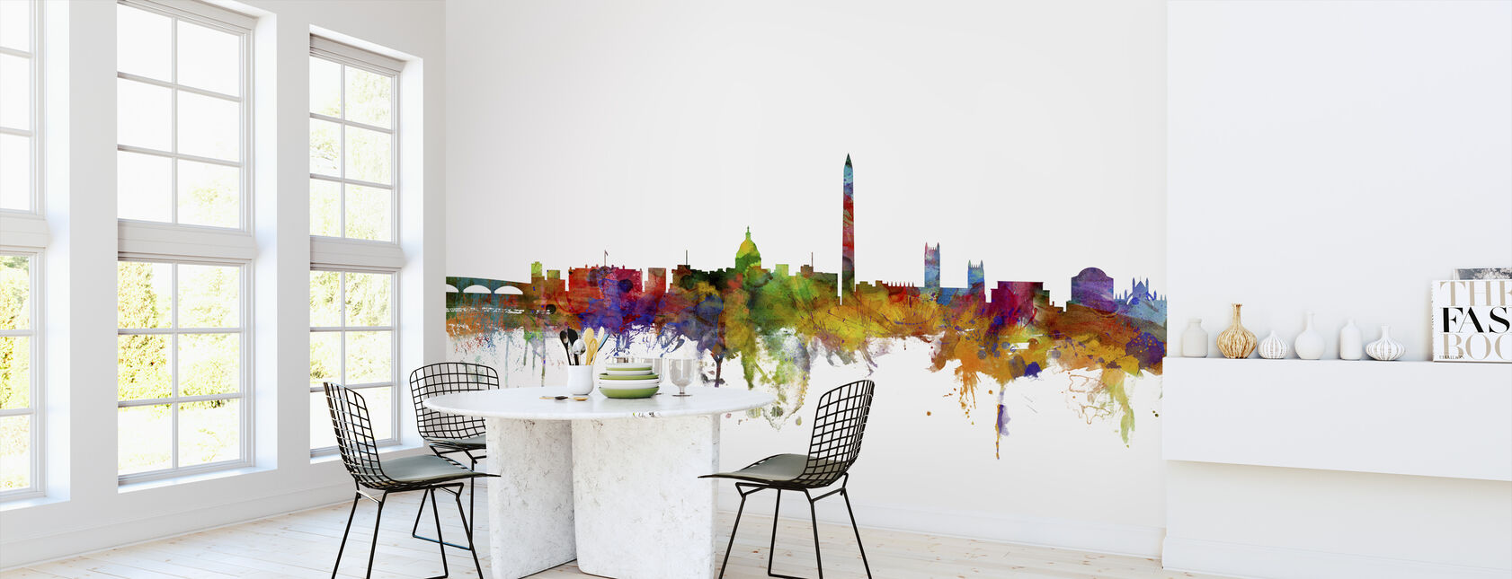 Washington DC Skyline - Wallpaper - Kitchen