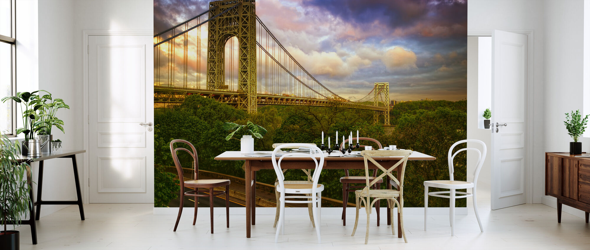 George Washington Bridge, New York - Wallpaper - Kitchen