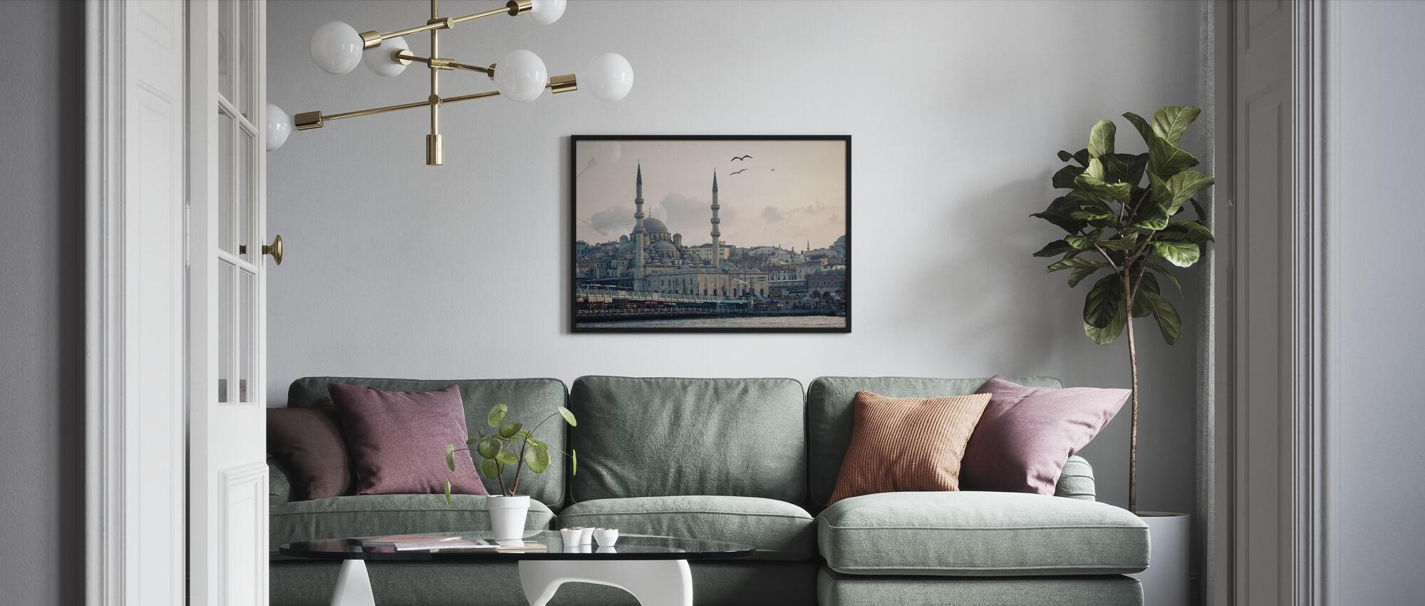 Istanbul - Obraz w ramie - Pokój dzienny