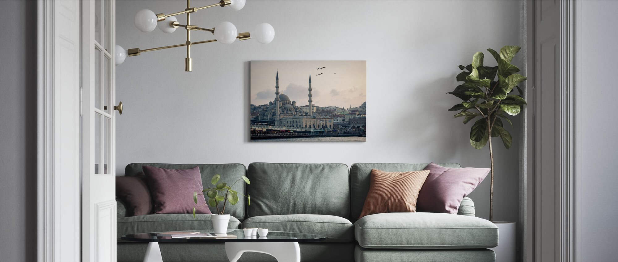 Istanbul - Canvas print - Living Room