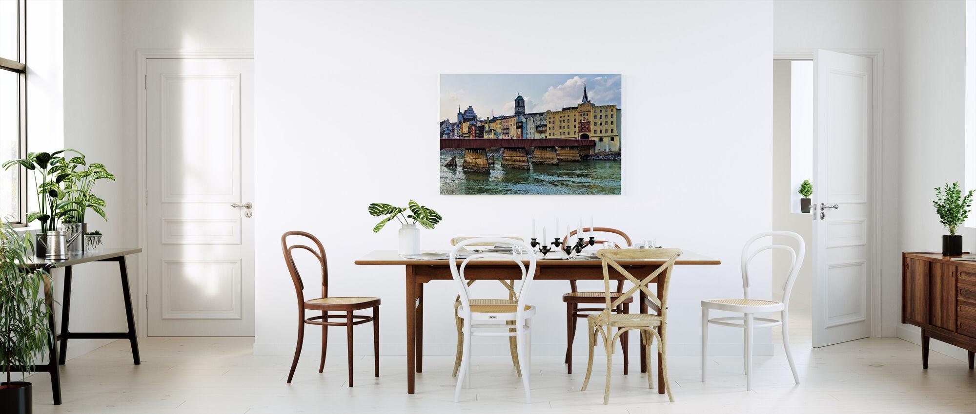 Wasserburg am Inn, Duitsland - Canvas print - Keuken