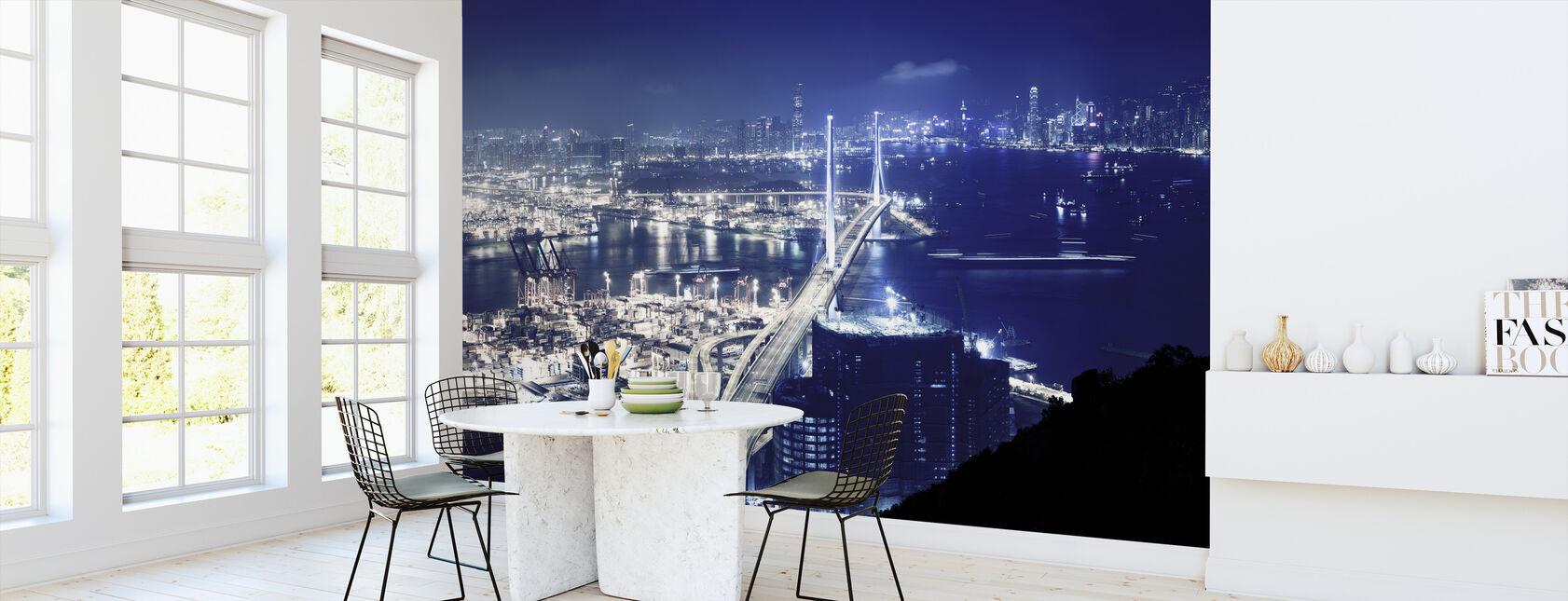 Blåbär nätter, Hongkong - Tapet - Kök