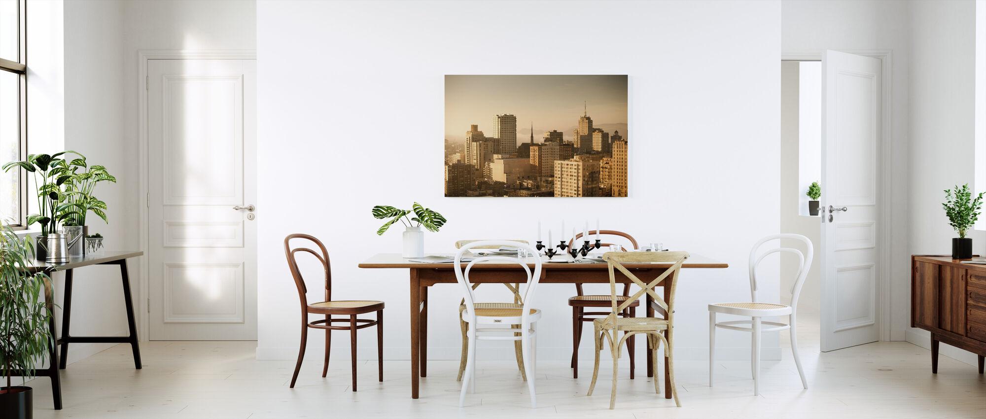 Sparkling San Francisco - Canvas print - Kitchen