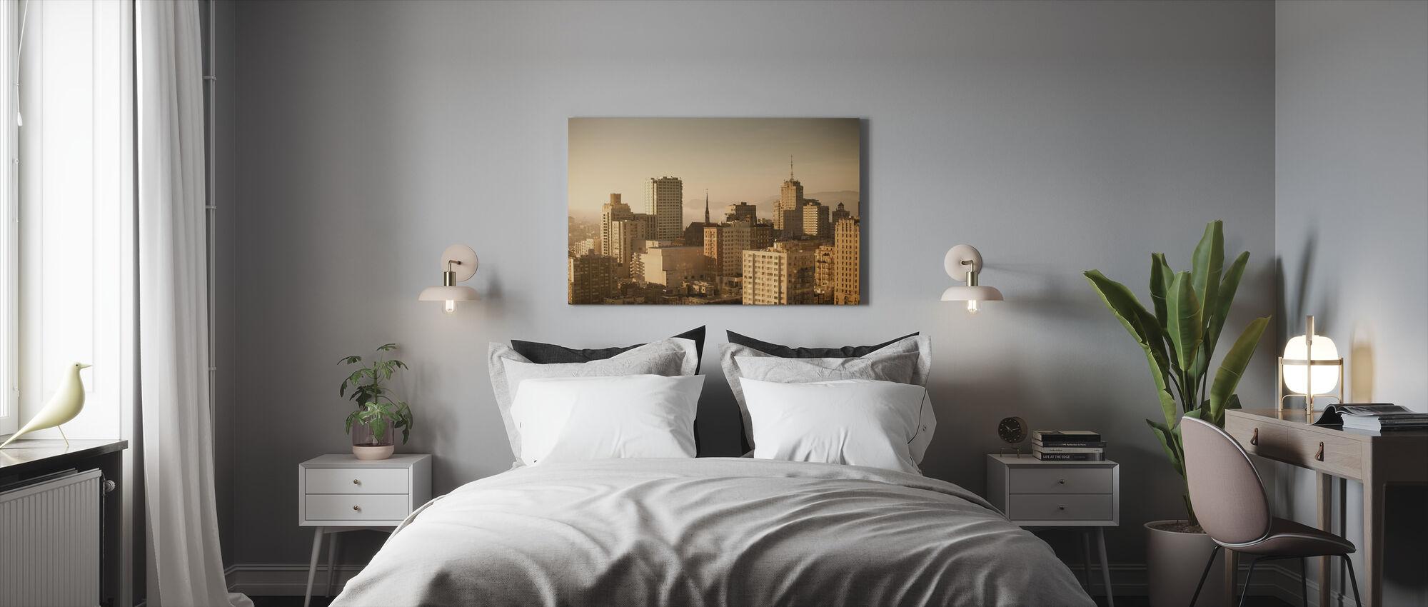 Sparkling San Francisco - Canvas print - Bedroom