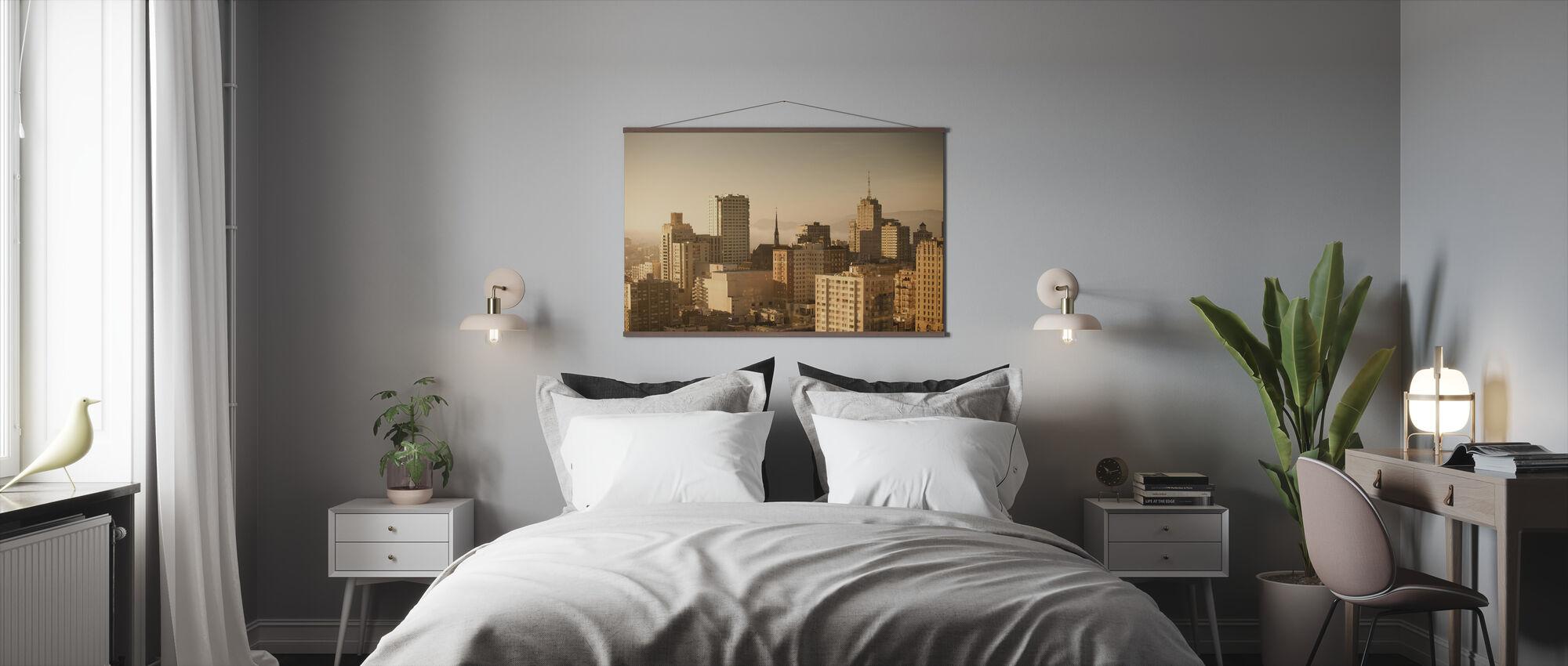 Sprankelende San Francisco - Poster - Slaapkamer