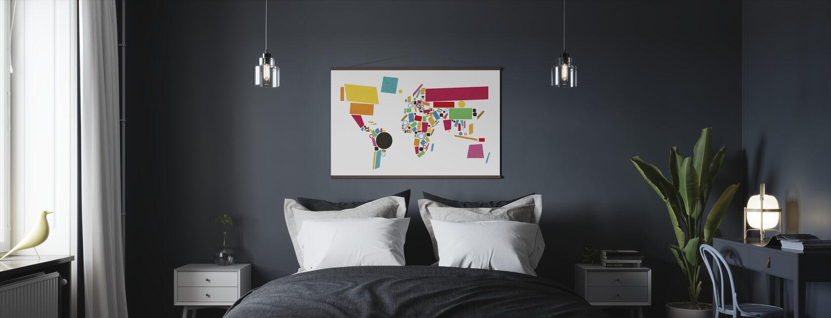 Multicoloured canvas prints