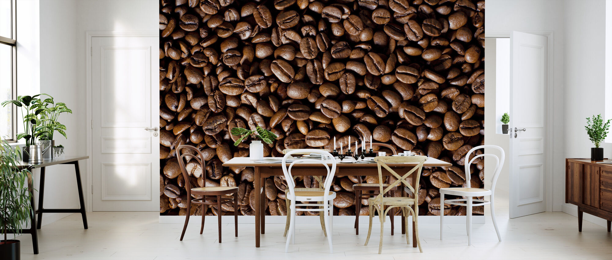Coffee Beans - Wallpaper - Kitchen