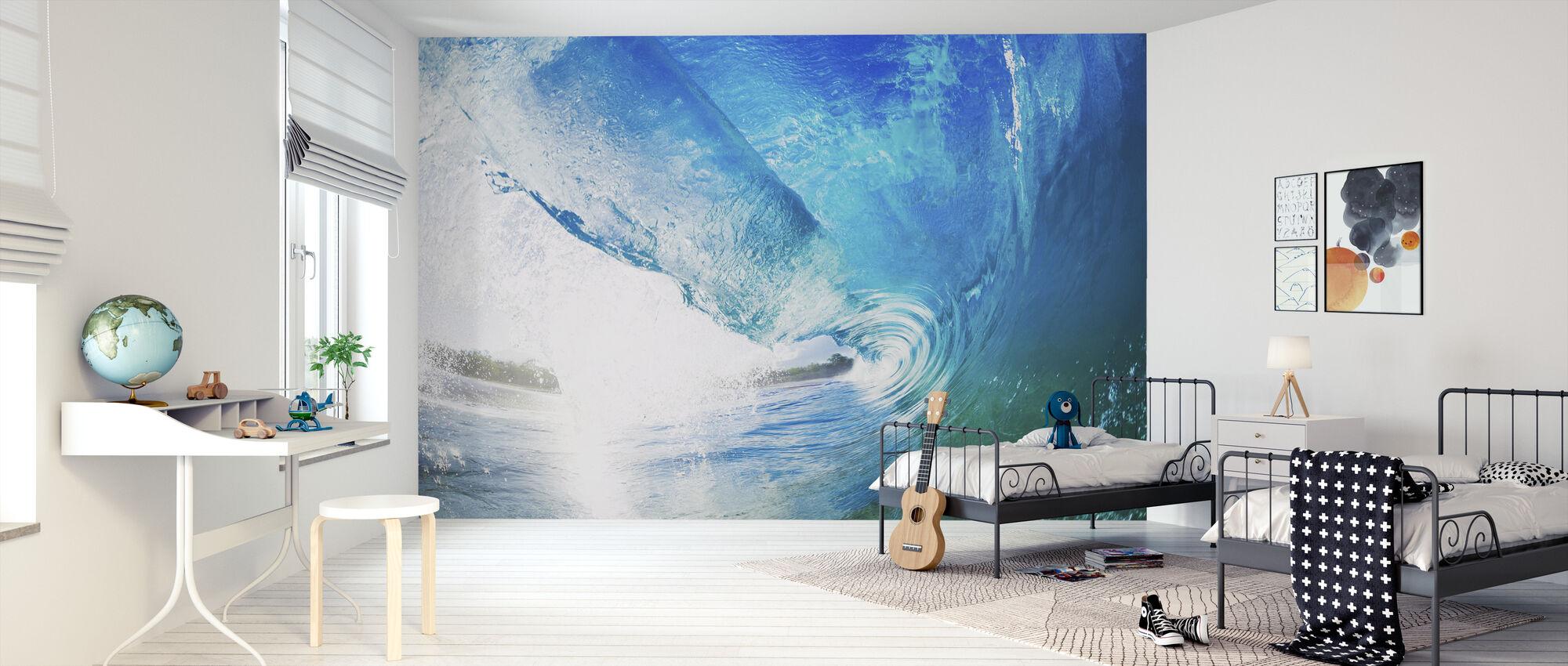 Surfers Dröm - Tapet - Barnrum