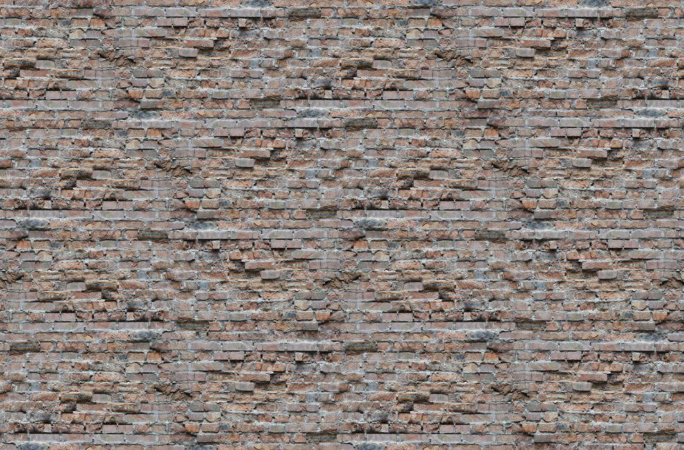 Brick wall Fototapeter & Tapeter 100 x 100 cm