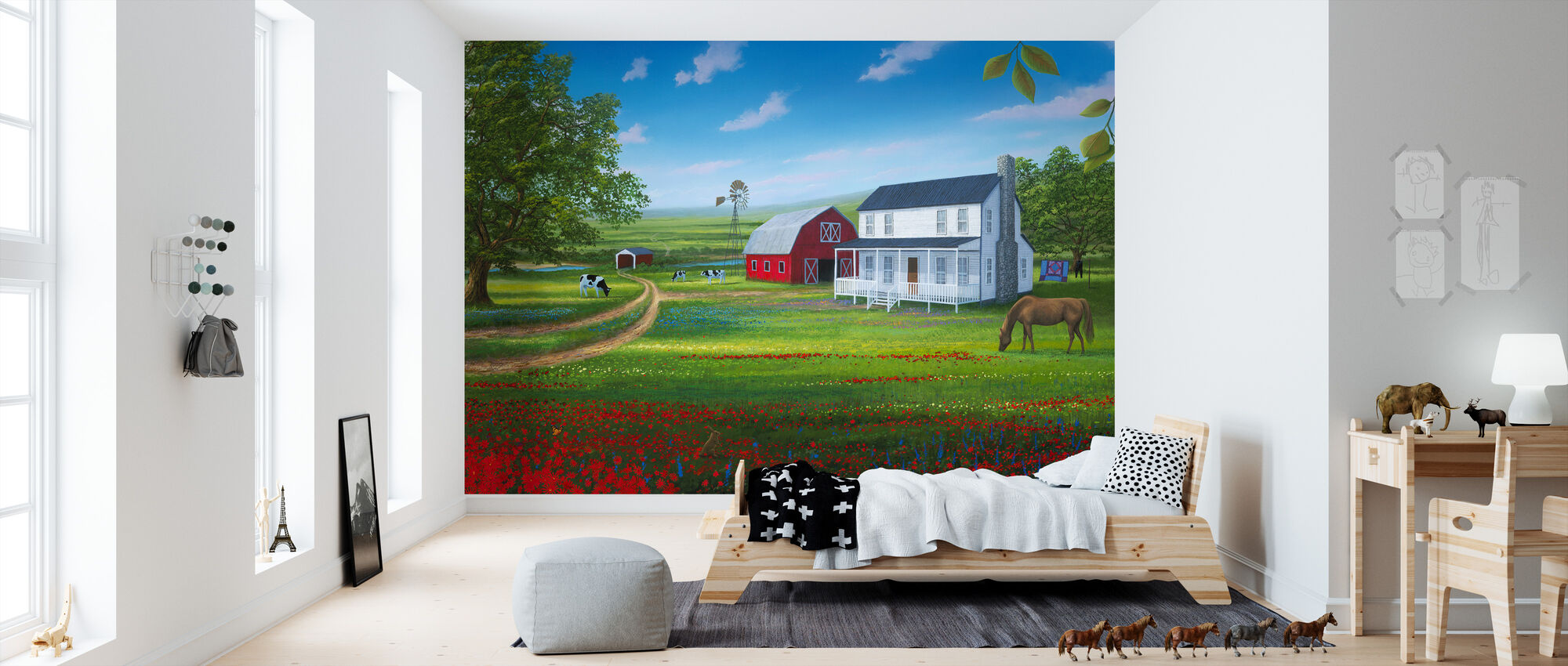 Country Living - Wallpaper - Kids Room