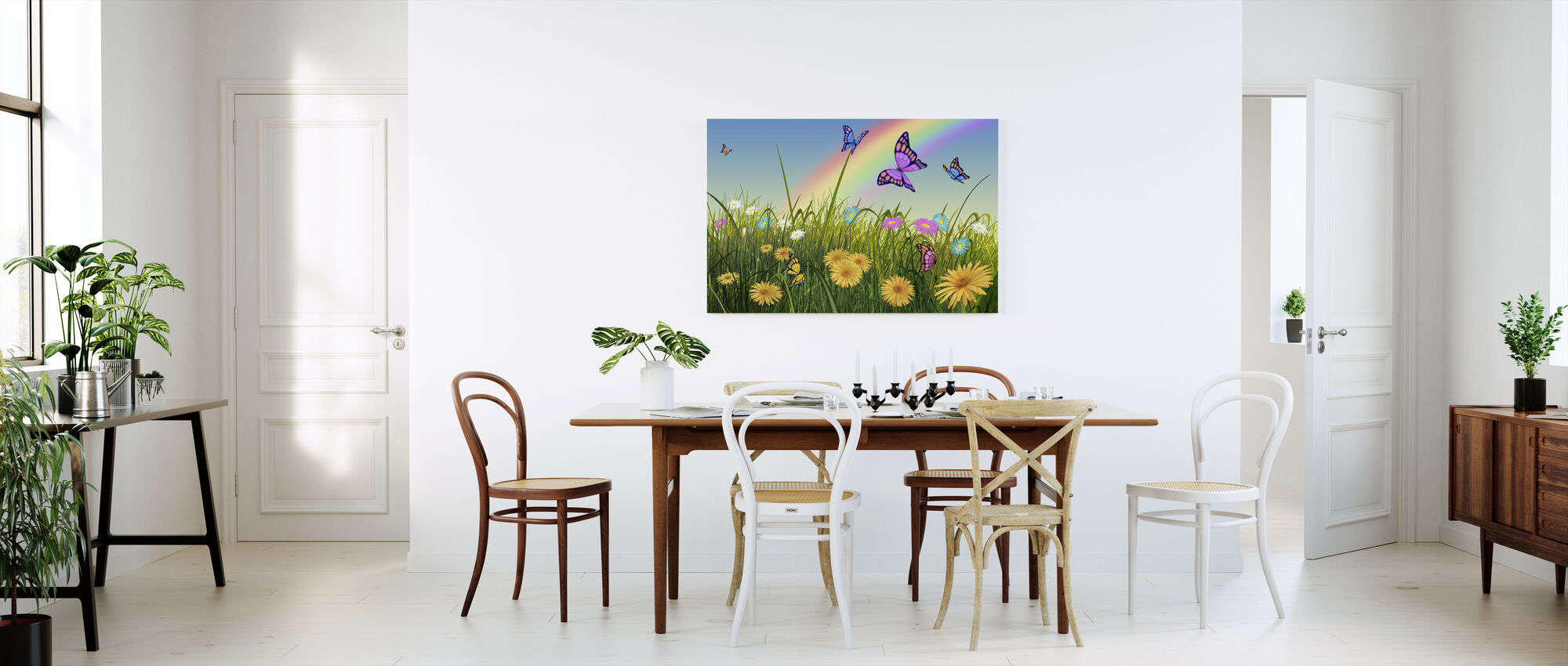 End of the Rainbow - Canvas print - Kitchen