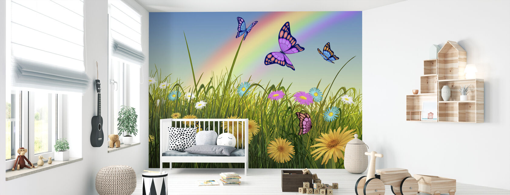 End of the Rainbow - Wallpaper - Nursery