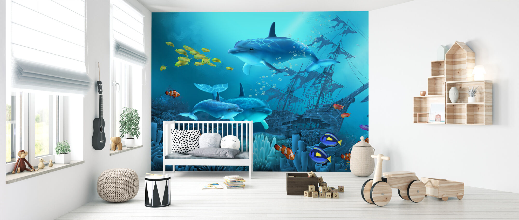 Lost Treasures - Wallpaper - Nursery