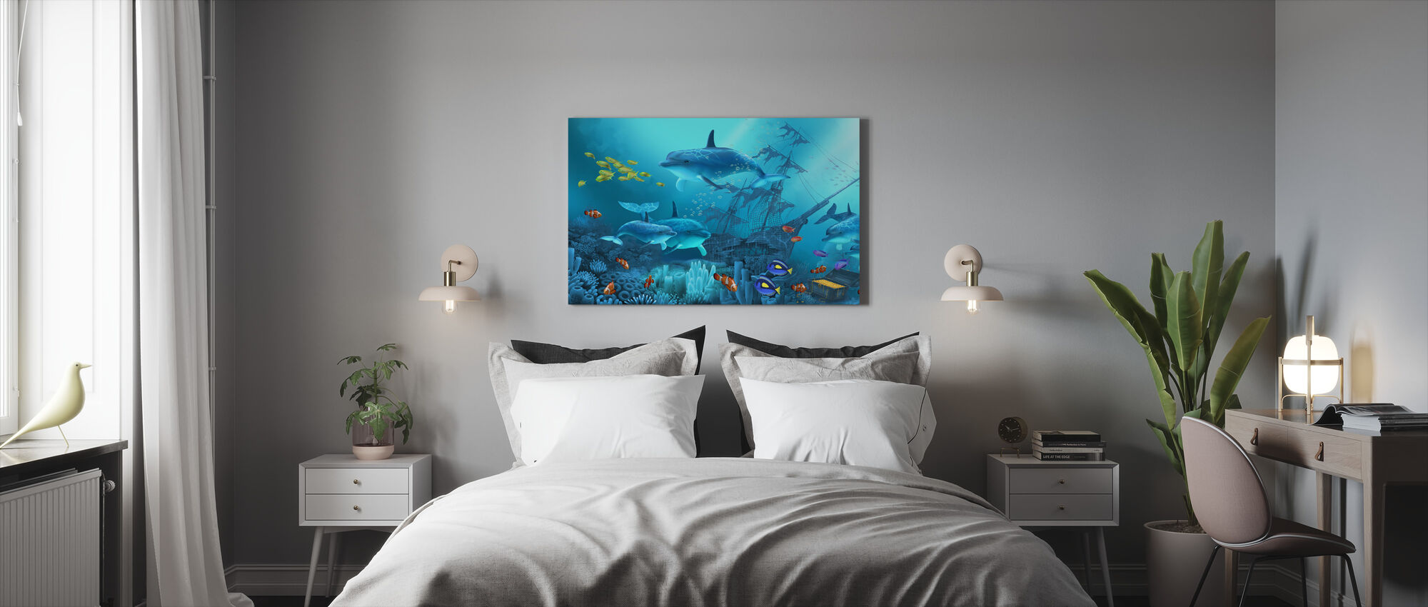 Lost Treasures - Canvas print - Bedroom