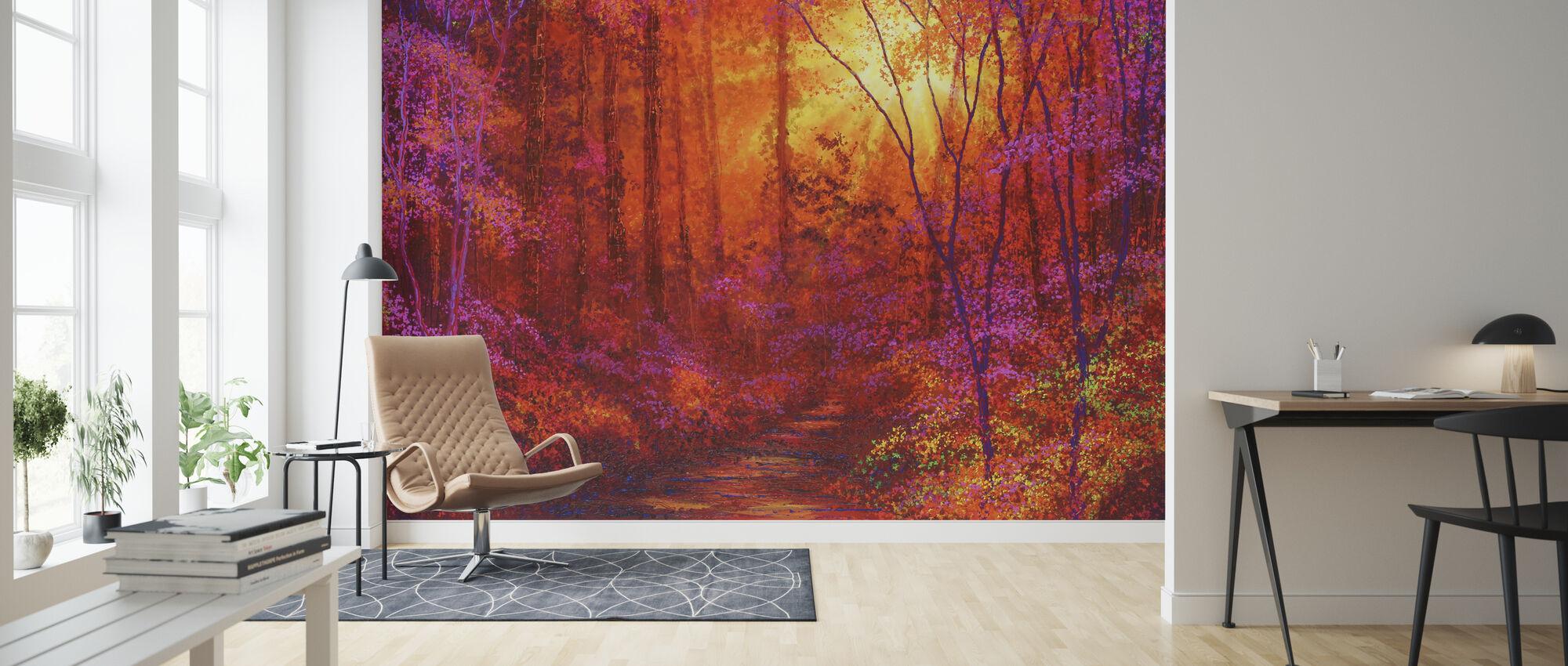 Ruby Forest - Wallpaper - Living Room