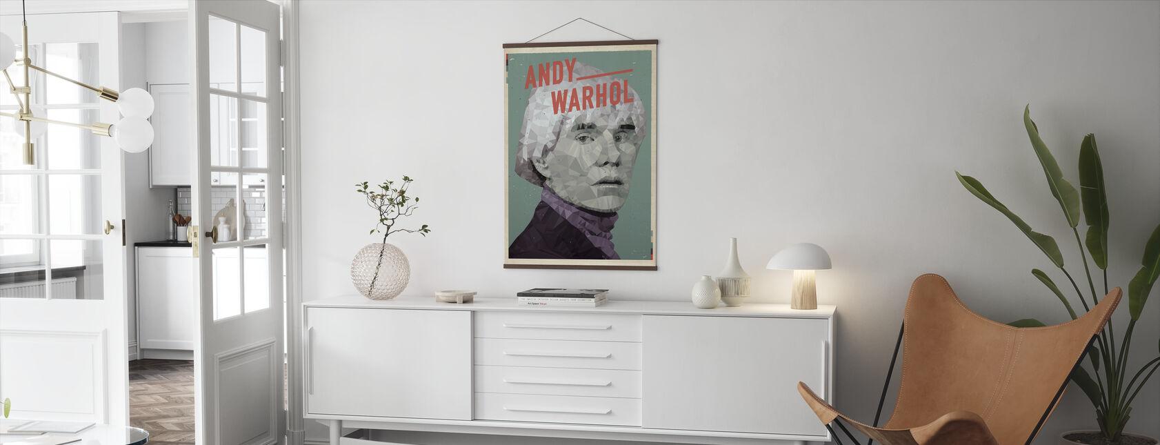 15 Minuten Ruhm - Poster - Wohnzimmer