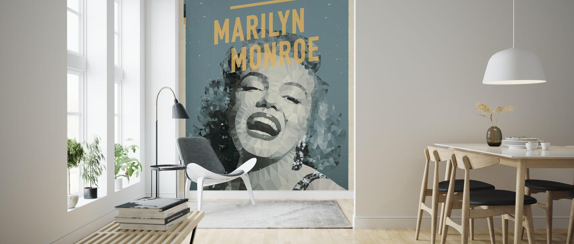 Blonde - Wallpaper - Living Room