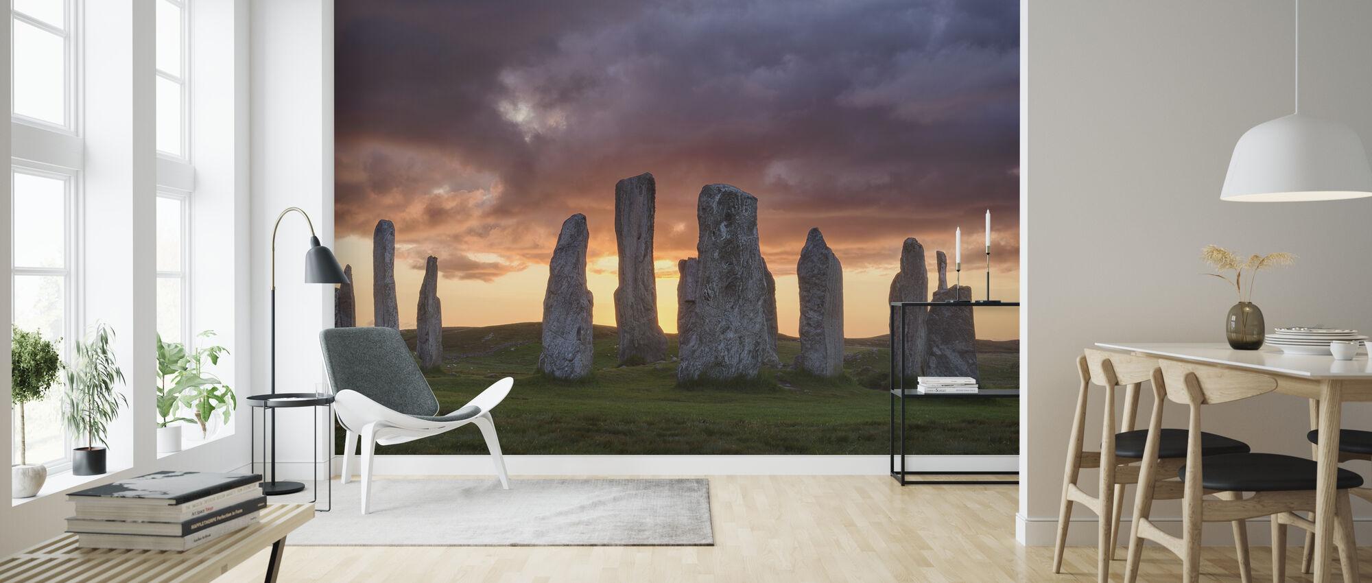 Callanish Sunset - Wallpaper - Living Room