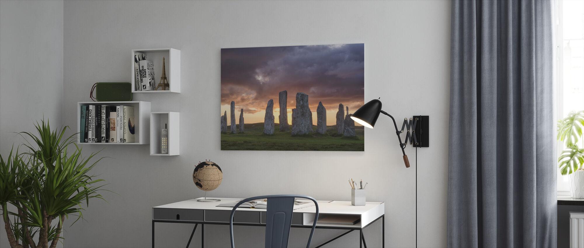 Callanischer Sonnenuntergang - Leinwandbild - Büro