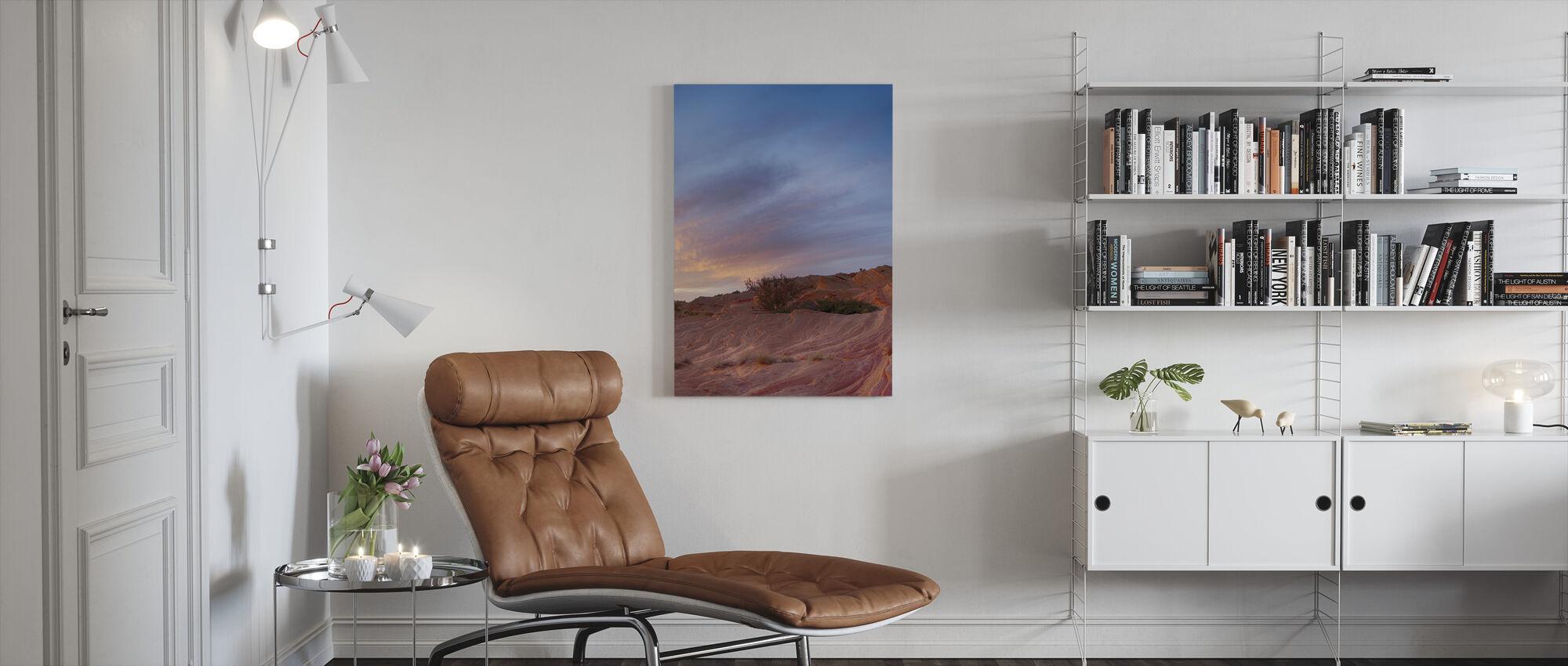 Desert Scene - Canvas print - Living Room