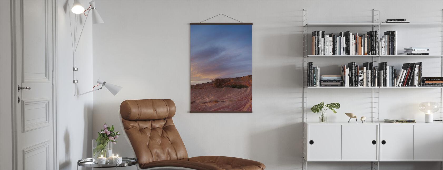 Desert Scene - Poster - Living Room