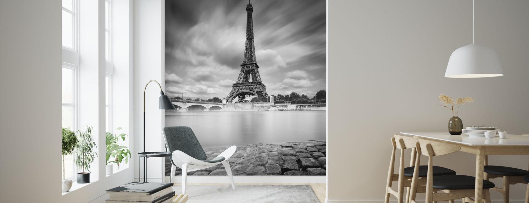 Eiffeltårnstudie - Tapet - Stue