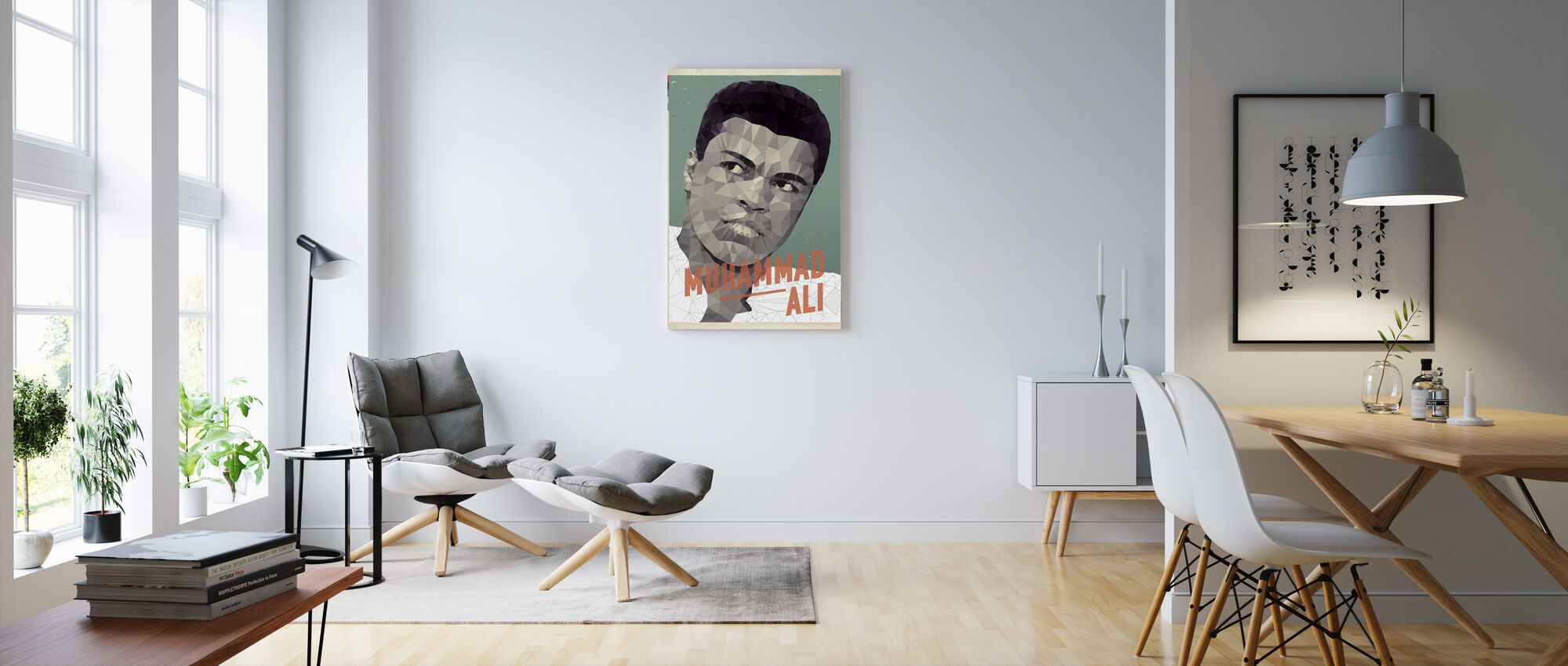 Float Like a Butterfly - Sting Like a Bee - Canvas print - Living Room