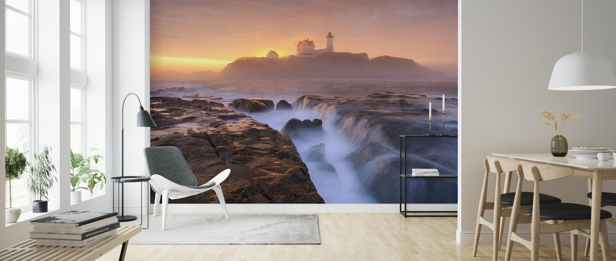 Fog over Tide - Wallpaper - Living Room