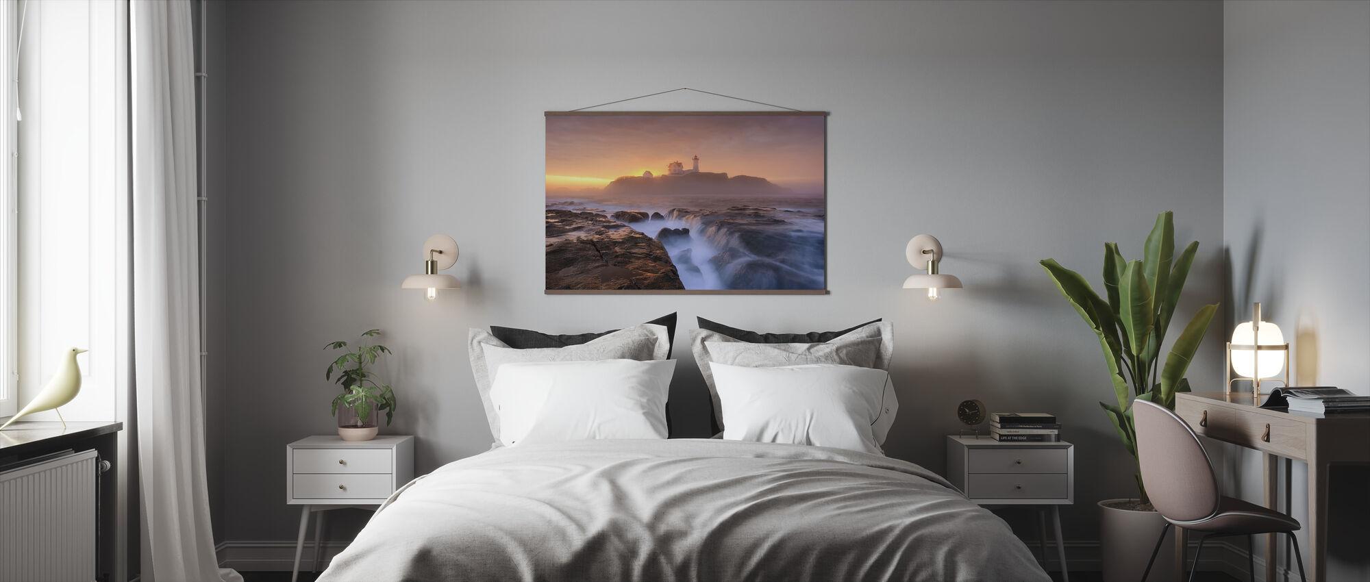 Fog over Tide - Poster - Bedroom