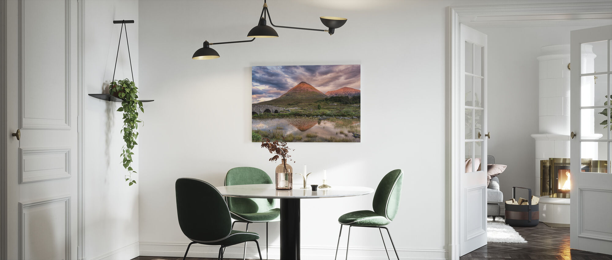Glamaig Sunset - Canvas print - Kitchen
