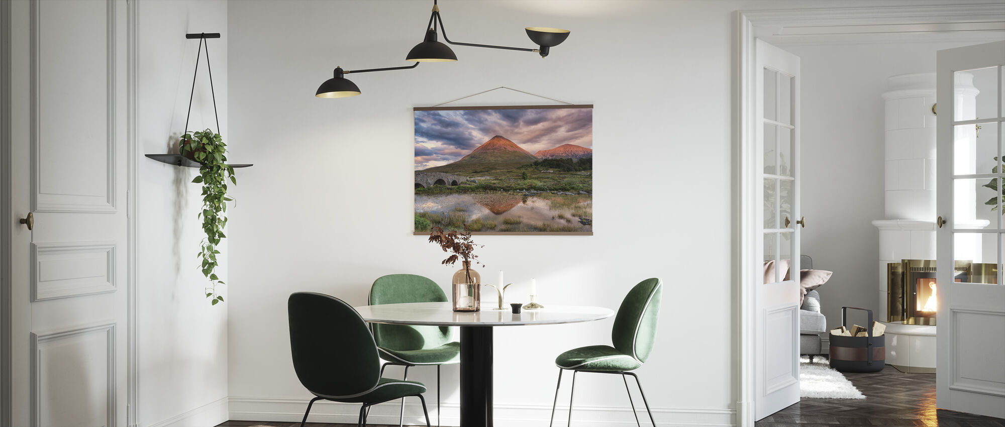 Glamaig Sunset - Poster - Kitchen