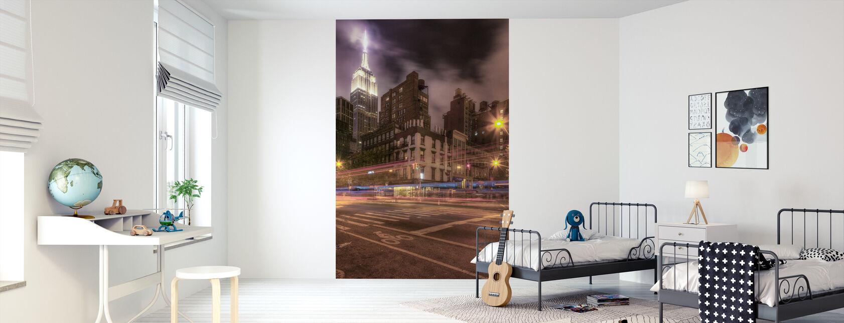 Gotham City - Tapetti - Lastenhuone