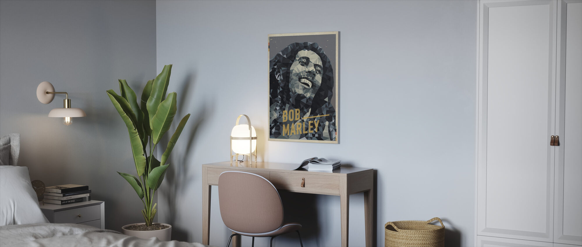 Is this Love - Canvas print - Office
