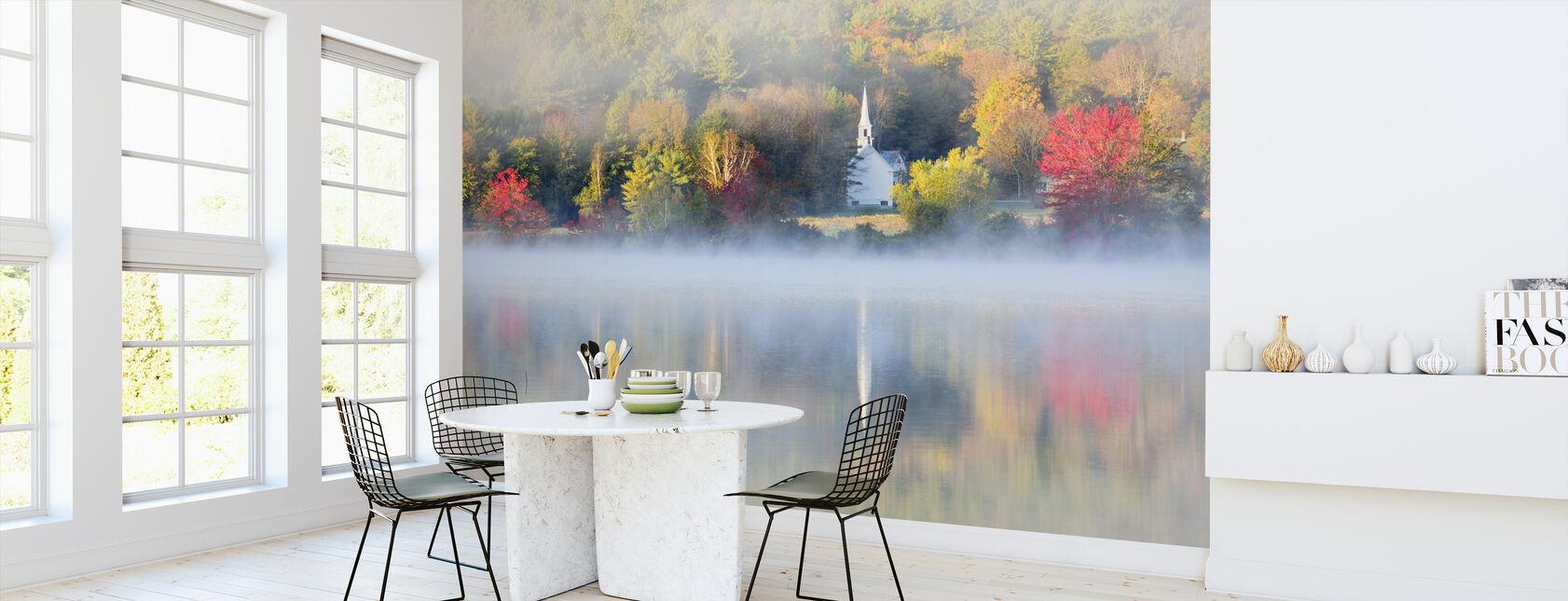 Lilla kyrkan av dimma - Tapet - Kök