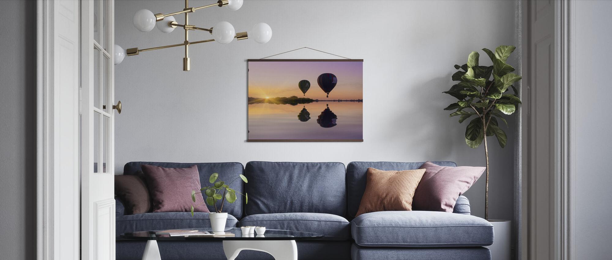 Kärlek är i luften - Poster - Vardagsrum
